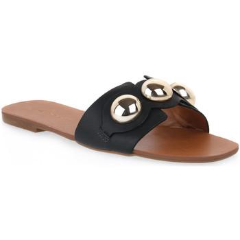Παπούτσια Γυναίκα Τσόκαρα Miss Unique UNIQUE   CALF PRETO Nero