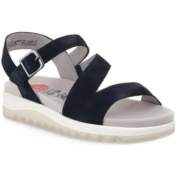 Παπούτσια Γυναίκα Σανδάλια / Πέδιλα Jana SANDAL NAVY Blu