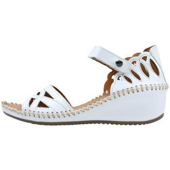 Παπούτσια Γυναίκα Σανδάλια / Πέδιλα Amanda  Άσπρο