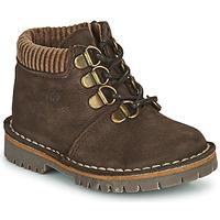 Παπούτσια Αγόρι Μπότες Citrouille et Compagnie PRINCE Brown