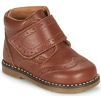 Παπούτσια Αγόρι Μπότες Citrouille et Compagnie PROYAL Camel