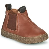 Παπούτσια Αγόρι Μπότες Citrouille et Compagnie PESTACLE Camel