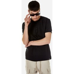 Υφασμάτινα Άνδρας T-shirt με κοντά μανίκια Brokers ΑΝΔΡΙΚΟ T-SHIRT Μαύρο
