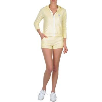Υφασμάτινα Γυναίκα Σόρτς / Βερμούδες Petit Bateau TOUPET Yellow