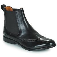Παπούτσια Γυναίκα Μπότες Melvin & Hamilton AMELIE 5 Black