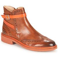 Παπούτσια Γυναίκα Μπότες Melvin & Hamilton SELINA 25 Brown