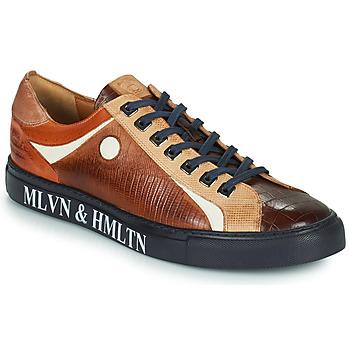 Παπούτσια Άνδρας Χαμηλά Sneakers Melvin & Hamilton HARVEY 9 Brown