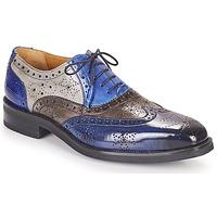 Παπούτσια Άνδρας Derby Melvin & Hamilton JEFF 28 Μπλέ