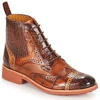 Παπούτσια Γυναίκα Μπότες Melvin & Hamilton AMELIE 17 Brown