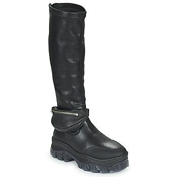 Παπούτσια Γυναίκα Μπότες Bronx JAXSTAR HIGH Black