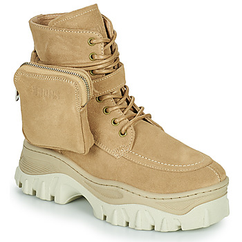 Παπούτσια Γυναίκα Μπότες Bronx JAXSTAR MID Beige
