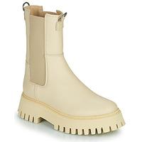 Παπούτσια Γυναίκα Μπότες Bronx GROOV Y Beige