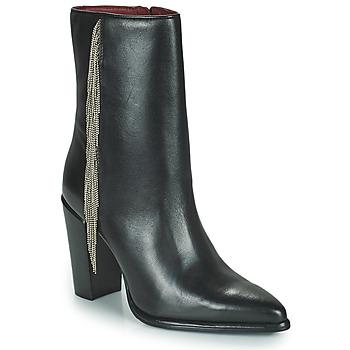Παπούτσια Γυναίκα Μπότες για την πόλη Bronx NEXT AMERICANA Black