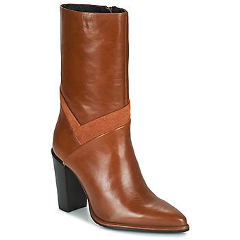 Παπούτσια Γυναίκα Μπότες για την πόλη Bronx NEXT AMERICANA Brown