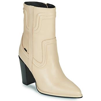 Παπούτσια Γυναίκα Μπότες για την πόλη Bronx NEXT AMERICANA Beige