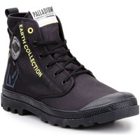 Παπούτσια Ψηλά Sneakers Palladium Pampa 77054-008-M black, yellow