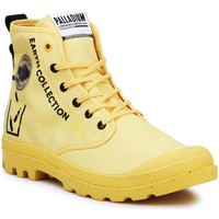 Παπούτσια Ψηλά Sneakers Palladium Pampa 77054-713-M black, yellow