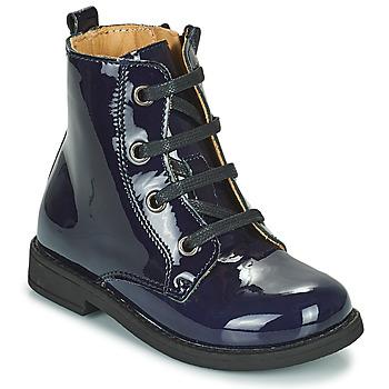 Παπούτσια Κορίτσι Μπότες Citrouille et Compagnie HEMANU Μπλέ