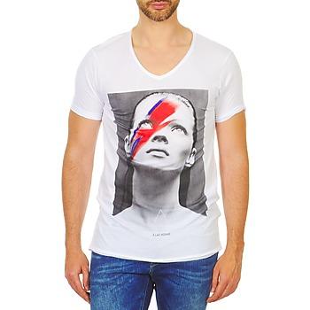 Υφασμάτινα Άνδρας T-shirt με κοντά μανίκια Eleven Paris KATOS άσπρο