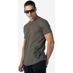 Υφασμάτινα Άνδρας T-shirt με κοντά μανίκια Brokers ΑΝΔΡΙΚΟ T-SHIRT ΛΑΔΙ