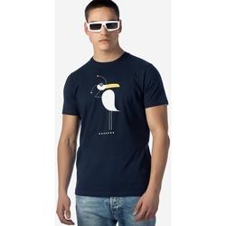 Υφασμάτινα Άνδρας T-shirt με κοντά μανίκια Brokers ΑΝΔΡΙΚΟ T-SHIRT MARINE