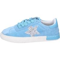 Παπούτσια Κορίτσι Χαμηλά Sneakers Holalà BH09 Μπλε