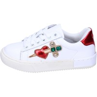 Παπούτσια Κορίτσι Χαμηλά Sneakers Holalà BH12 λευκό