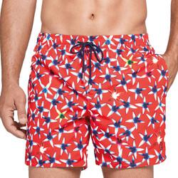 Υφασμάτινα Άνδρας Μαγιώ / shorts για την παραλία Impetus 1950J39 K08 Red