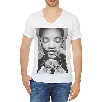 Υφασμάτινα Άνδρας T-shirt με κοντά μανίκια Eleven Paris WOLY M άσπρο