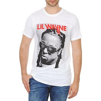 Υφασμάτινα Άνδρας T-shirt με κοντά μανίκια Eleven Paris APY M Άσπρο