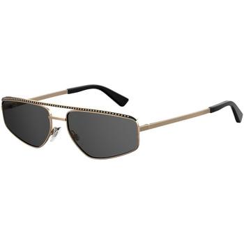 Ρολόγια & Kοσμήματα Γυναίκα óculos de sol Love Moschino  Gold