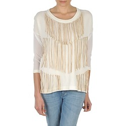 Υφασμάτινα Γυναίκα Μπλουζάκια με μακριά μανίκια Eleven Paris ANGIE Άσπρο
