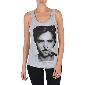 Υφασμάτινα Γυναίκα Αμάνικα / T-shirts χωρίς μανίκια Eleven Paris BERTY DEB W Grey