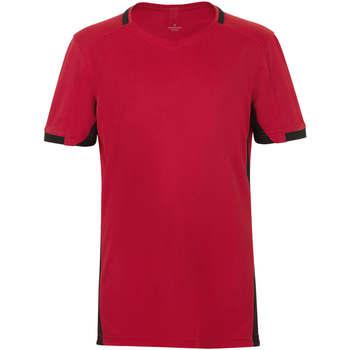 Υφασμάτινα Αγόρι T-shirt με κοντά μανίκια Sols CLASSICO KIDS Rojo Negro Rojo