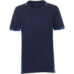 Υφασμάτινα Αγόρι T-shirt με κοντά μανίκια Sols CLASSICO KIDS Azul Marino Azul