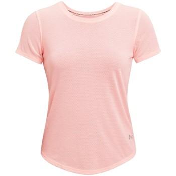 Υφασμάτινα Γυναίκα T-shirt με κοντά μανίκια Under Armour Streaker Run Short Sleeve Rose