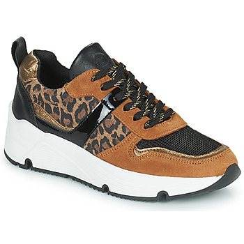 Παπούτσια Γυναίκα Χαμηλά Sneakers Betty London PRIETTE Cognac