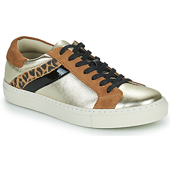 Παπούτσια Γυναίκα Χαμηλά Sneakers Betty London PITINETTE Gold