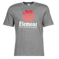 Υφασμάτινα Άνδρας T-shirt με κοντά μανίκια Element VERTICAL SS Grey