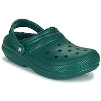 Παπούτσια Σαμπό Crocs CLASSIC LINED CLOG Green