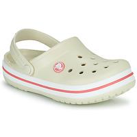 Παπούτσια Παιδί Σαμπό Crocs CROCBAND CLOG K Beige / Orange