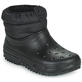 Παπούτσια Γυναίκα Snow boots Crocs CLASSIC NEO PUFF SHORTY BOOT W Black