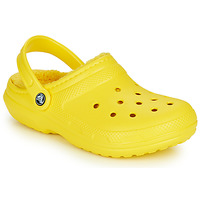 Παπούτσια Σαμπό Crocs CLASSIC LINED CLOG Yellow