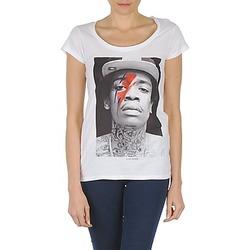 Υφασμάτινα Γυναίκα T-shirt με κοντά μανίκια Eleven Paris KALIFA W Άσπρο
