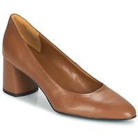 Παπούτσια Γυναίκα Γόβες Betty London  Cognac
