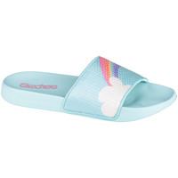 Παπούτσια Παιδί σαγιονάρες Skechers Sunny Slides-Dreamy Steps Bleu