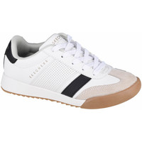 Παπούτσια Παιδί Χαμηλά Sneakers Skechers Zinger Blanc