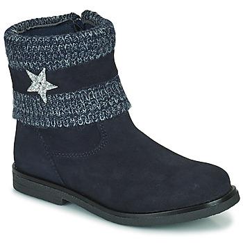 Παπούτσια Κορίτσι Μπότες Citrouille et Compagnie PASTEK Marine