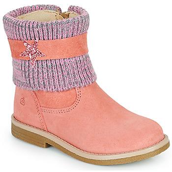 Παπούτσια Κορίτσι Μπότες Citrouille et Compagnie PASTEK Ροζ