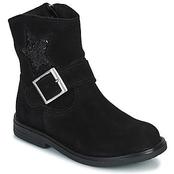 Παπούτσια Κορίτσι Μπότες Citrouille et Compagnie POUDRE Black